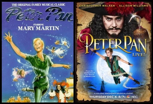 Peter Pan Productions that Fly from Stage to TV ...